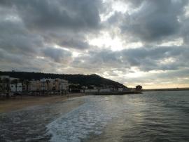 the damn beach, Haifa